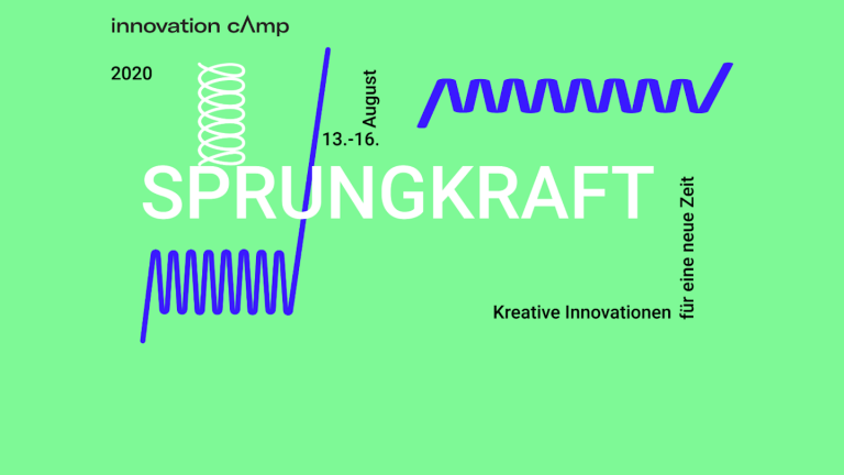 innovation cAmp SPRUNGKRAFT 2020 | Kreative Innovationen für eine neue Zeit